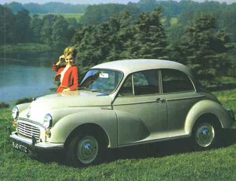 Britain's Morris Minor