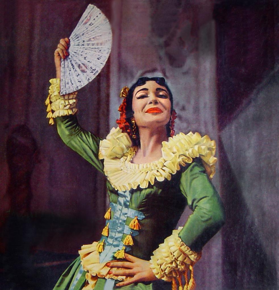 Στον «Κουρέα της Σεβίλλης», 1956