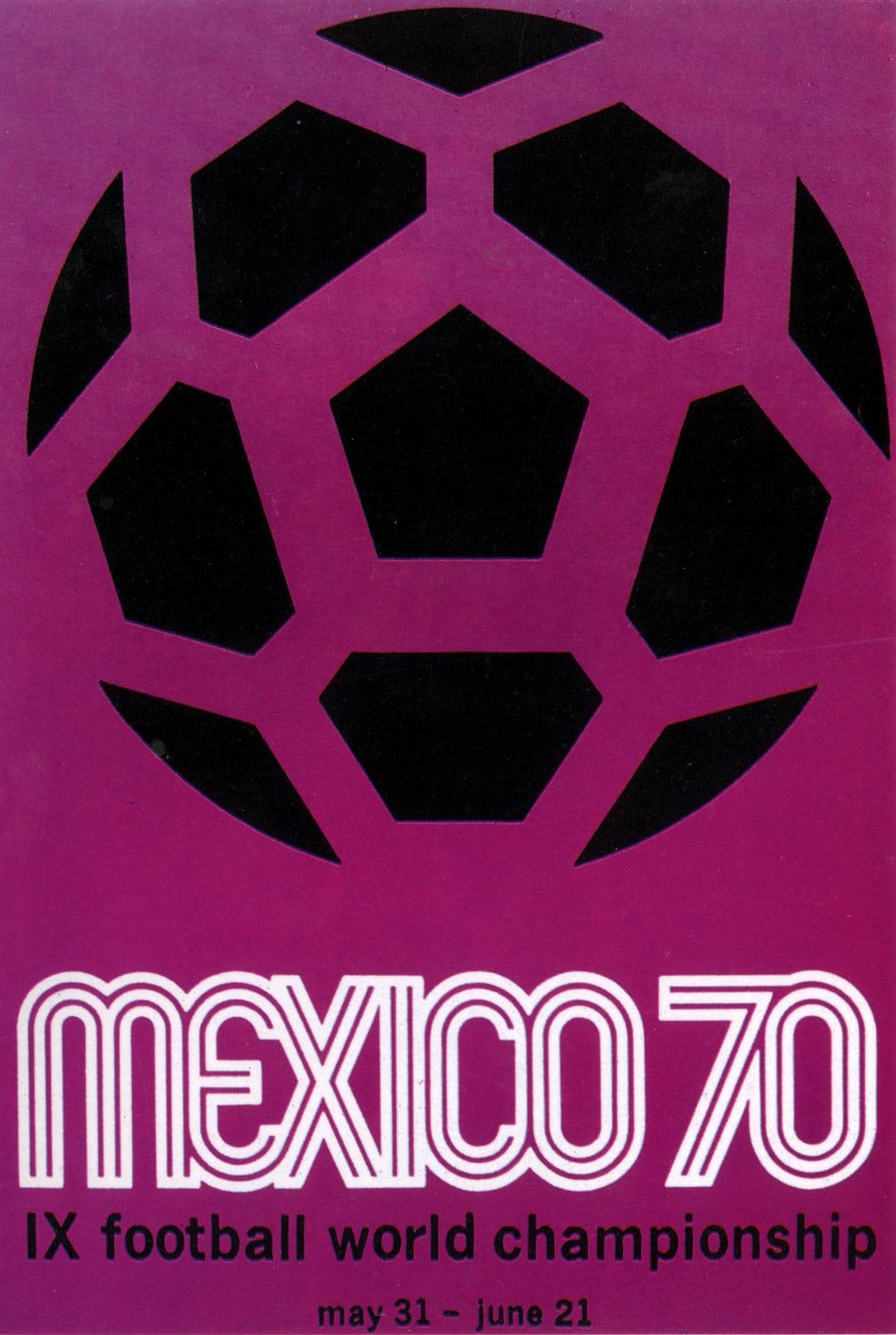 Μεξικό 1970. Ενα πόστερ με έντονο μοβ χρώμα και μεγάλα γράμματα. Είτε σου αρέσει είτε όχι