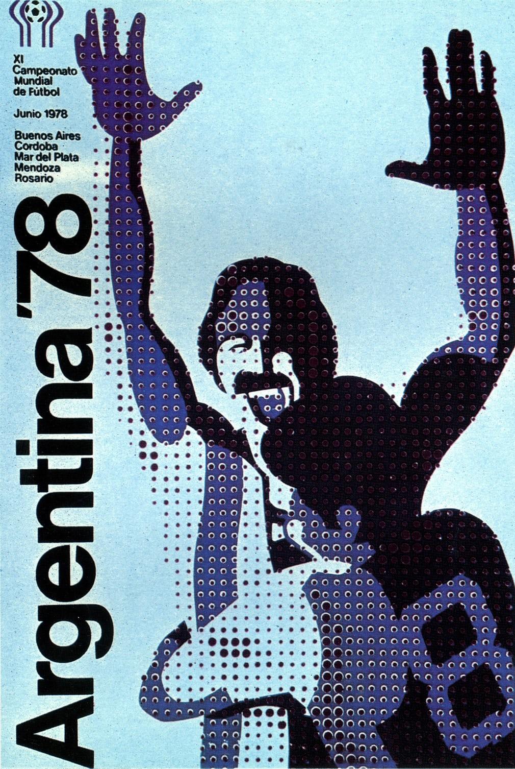 Αργεντινή 1978. Καθώς τα χρόνια περνούν, τα σχέδια γίνονται πιο περίτεχνα και καλαίσθητα. Οπως αυτό για το Μουντιάλ της Αργεντινής