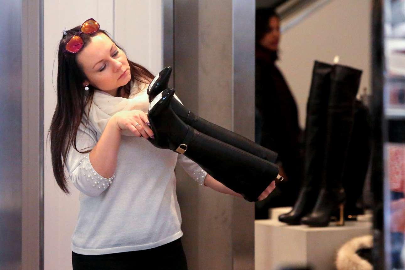 Αναζητώντας ένα ζευγάρι μπότες σε καλή τιμή στο Μανχάταν