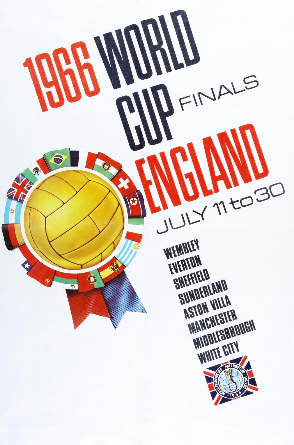 Αγγλία 1966. Βρετανική αισθητική και μεγάλα γράμματα για το Μουντιάλ του '66