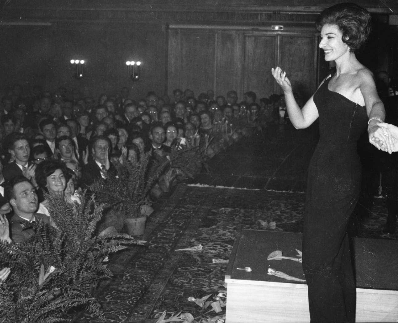 Περιοδεία στην Γερμανία, 1962