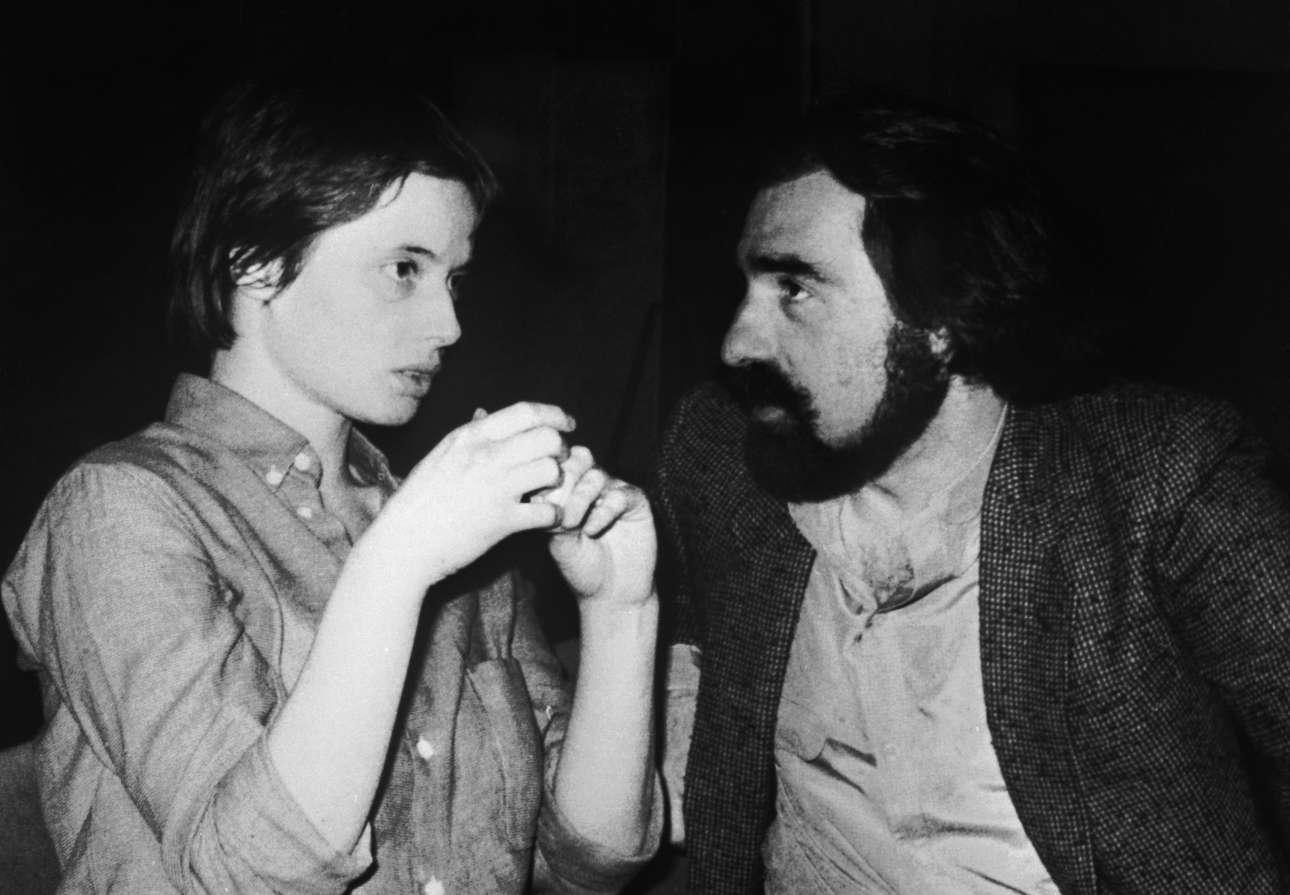 Σεπτέμβριος 1979 με την Ιζαμπέλα Ροσελίνι, κόρη της Ιγκριντ Μπέργκμαν. Ο Μάρτιν και η Ιζαμπέλα παντρεύτηκαν χωρίς πολλή δημοσιότητα στα τέλη των 70s