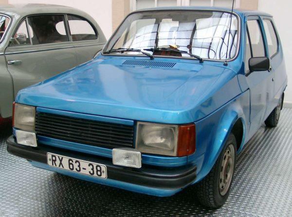 Trabant P1100 του 1973 (wikimedia commons)