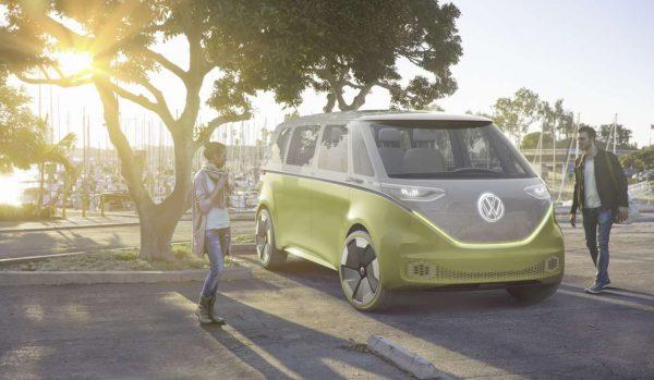 Το Volkswagen I.D. Buzz MPV Concept. Οι χίπις έγιναν χίπστερ...
