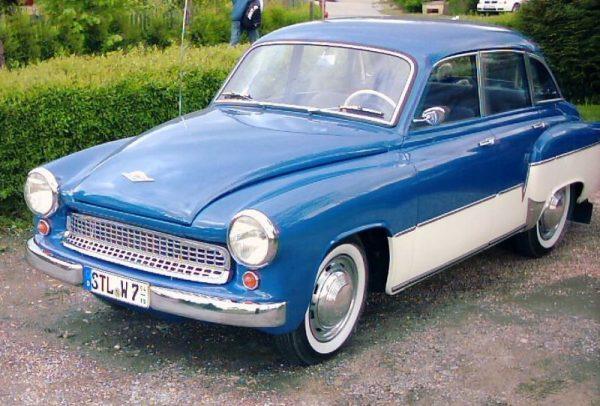 Wartburg 311 / 1 De Luxe, του 1959 (wikimedia commons)