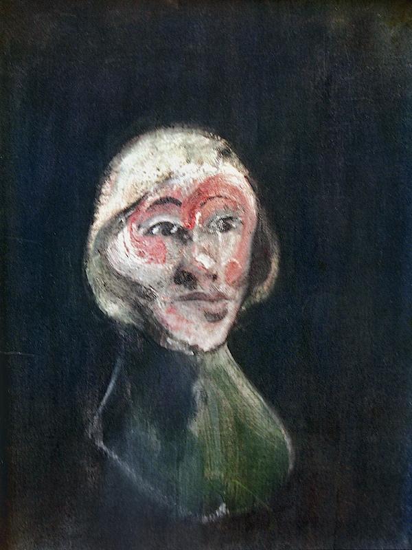Francis Bacon, Mlle Suzy Solidor, 1957