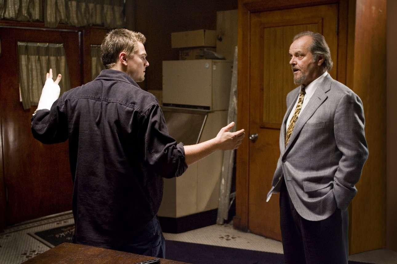 Με τον Τζακ Νίκολσον στον «Πληροφοριοδότη» (2006) -ποιού άλλου;- του Μάρτιν Σκορτσέζε