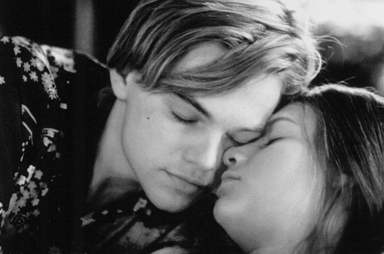 Με την Κλερ Ντέινς στο «Romeo + Juliet» (1996), του Μπαζ Λούρμαν