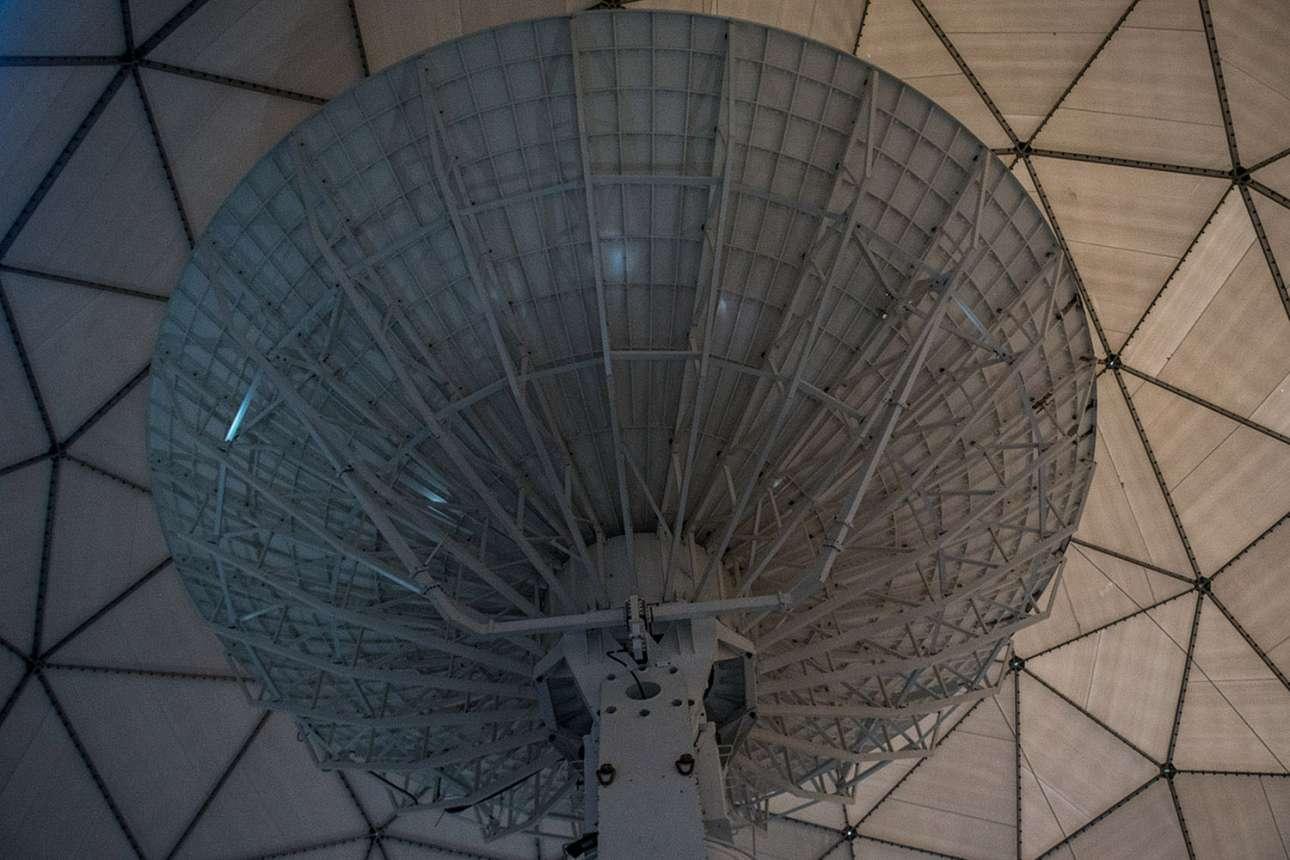 Μέσα στη «μπάλα του γκολφ» της NASA, στον σταθμό Μακμέρντο