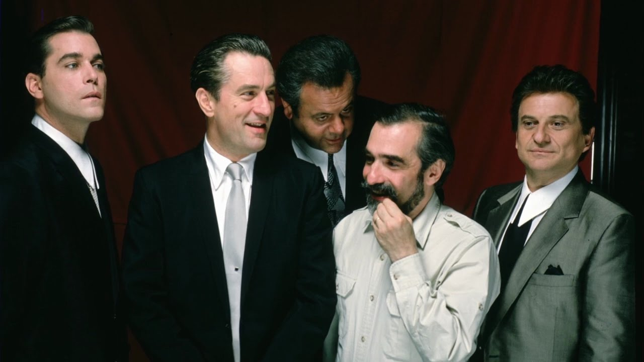 Ρέι Λιότα, Ρόμπερτ ντε Νίρο, Πολ Σορβίνο, Μάρτιν Σκορσέζε και Τζόε Πέσι στο θρυλικό «Τα Καλά Παιδιά» (1990) που ήταν υποψήφιο και για Οσκαρ Καλύτερης Ταινίας