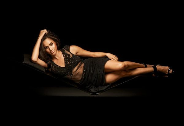 "EXCLUSIVE: **PREMIUM EXCLUSIVE RATES APPLY** **MANDATORY PHOTO CREDIT @mattbarnesphoto/Splash News** Prince Harry's new girlfriend Meghan Markle looks sultry and sexy in a 2013 photoshoot. The Suits star, who Harry has confirmed he has been dating for ""a few months"", showed off her good looks as she reclined on a seat in a sheer black dress and heels. In another image, American-born Meghan lay in a leather chair wearing skinny pants with lace detail up the side and a satin shirt with just one button done up, showing off a tiny glimpse of a black bra. A third look saw her wearing a black mini-dress and flaunting her slim, toned legs. The photos were taken by Toronto-based photographer Matt Barnes for Sharp magazine in Canada. Pictured: Meghan Markle in September 2013 Ref: SPL1388130 081116 EXCLUSIVE Picture by: @mattbarnesphoto/Splash News Splash News and Pictures Los Angeles:310-821-2666 New York:212-619-2666 London:870-934-2666 photodesk@splashnews.com"