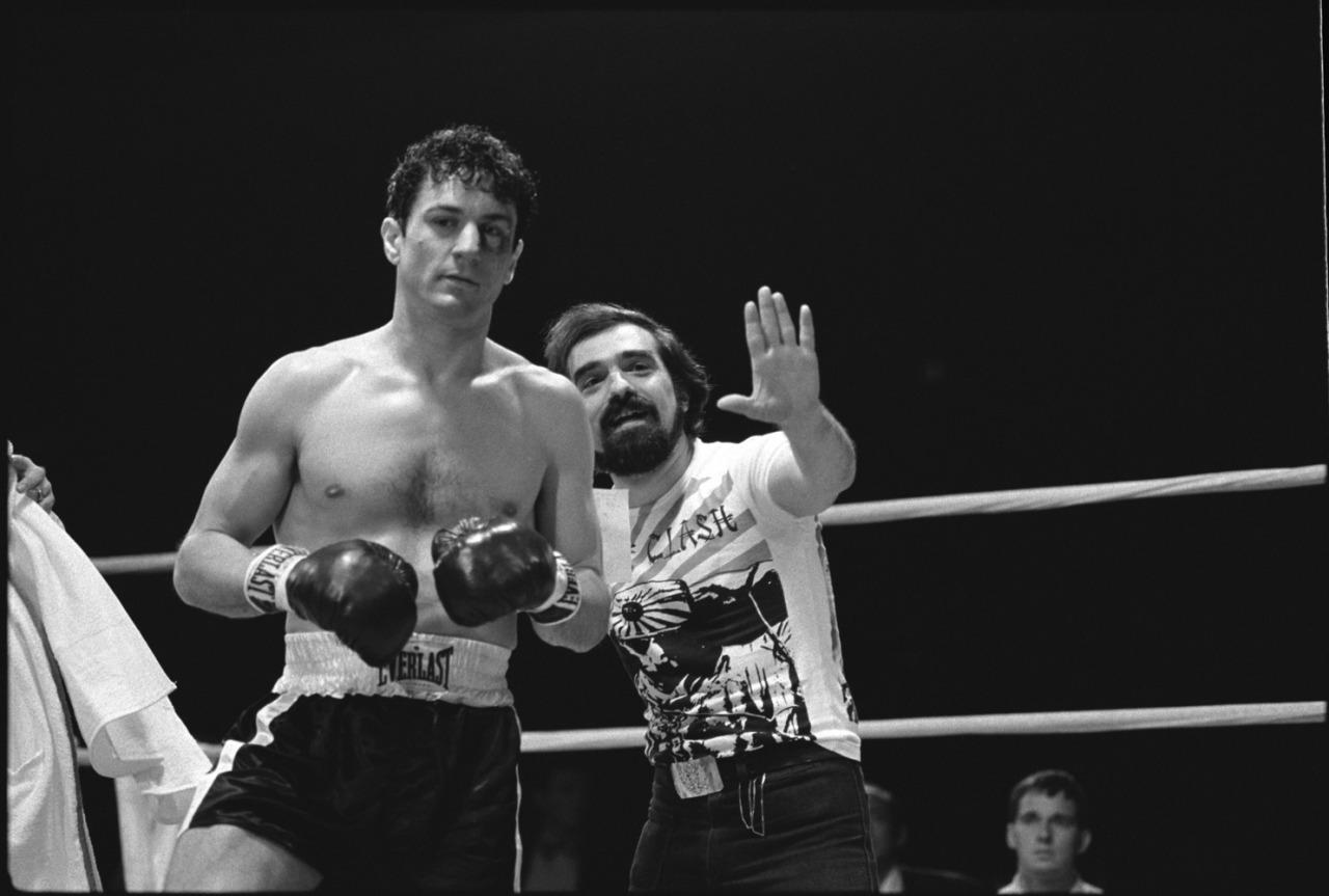 Πάλι με τον Ντε Νίρο στο «Οργισμένο Είδωλο» (1980). Η πρώτη υποψηφιότητα -ίσως και η καλύτερη- του Σκορσέζε για Οσκαρ σκηνοθεσίας