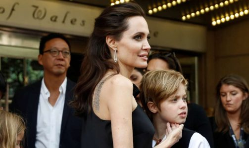 "Director Angelina Jolie arrives on the red carpet her child Shiloh Jolie-Pitt for the film ""First They Killed My Father"" at the Toronto International Film Festival (TIFF), in Toronto, Canada, September 11, 2017. REUTERS/Mark Blinch"