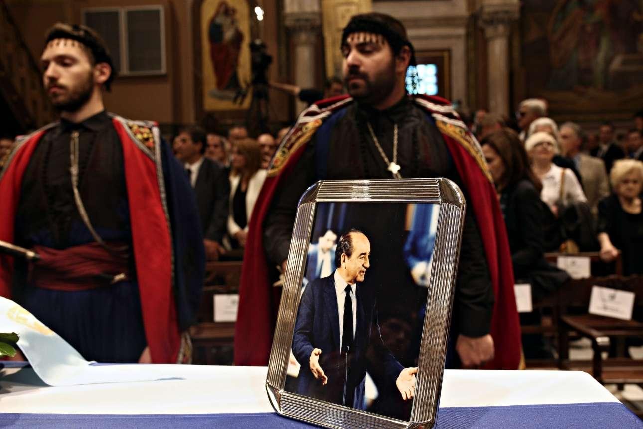 31 Μαΐου. Η νεκρώσιμος ακολουθία για τον Κωνσταντίνο Μητσοτάκη στον Μητροπολιτικό Ναό των Αθηνών