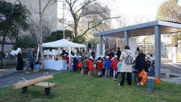 Στιγμιότυπο από την εκδήλωση στον Δήμο Αμπελοκήπων-Μενεμένης
