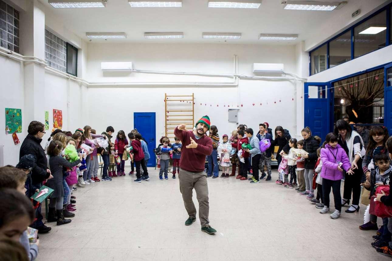 Θεατρική δράση για τους μικρούς αθηναίους!
