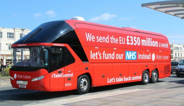 To λεωφορειο του Brexit