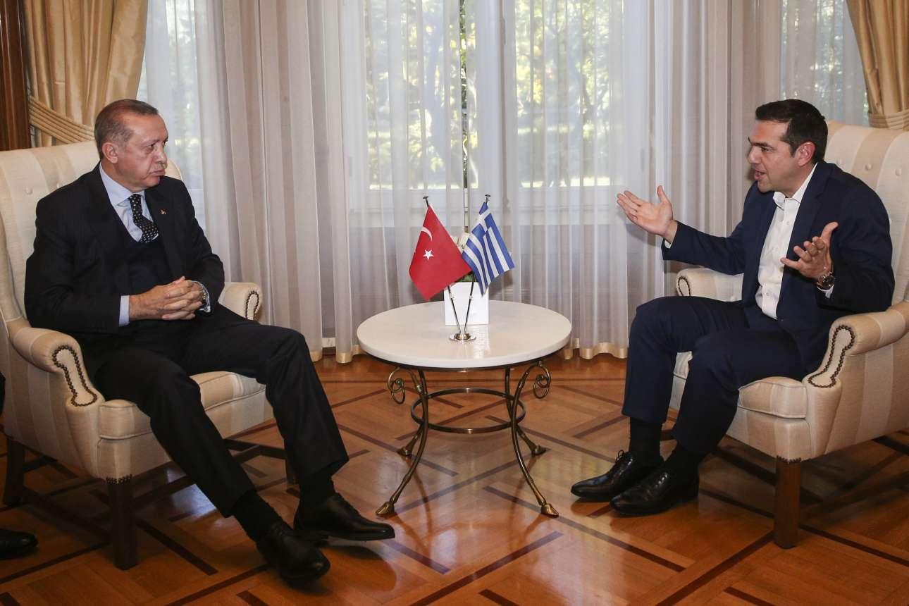 7 Δεκεμβρίου. Συνάντηση του Αλέξη Τσίπρα και του Ρετζέπ Ταγίπ Ερντογάν στην Αθήνα. Υστερα από 65 χρόνια πρόεδρος της Τουρκίας επισκέπτεται την Ελλάδα