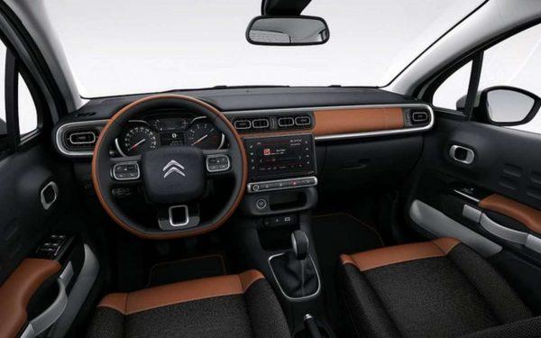 interior front Citroen C3 Aircross 2018_1