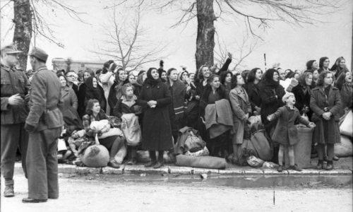 Ο εκτοπισμός των Εβραίων από τα Ιωάννινα, 25η Μαρτίου 1944 ©Wetzel, Bundesarchiv