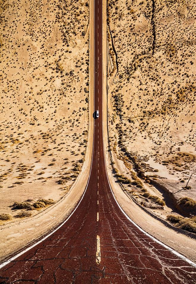 Ενας «ατελείωτος» δρόμος διασχίζει την Αριζόνα, στις ΗΠΑ