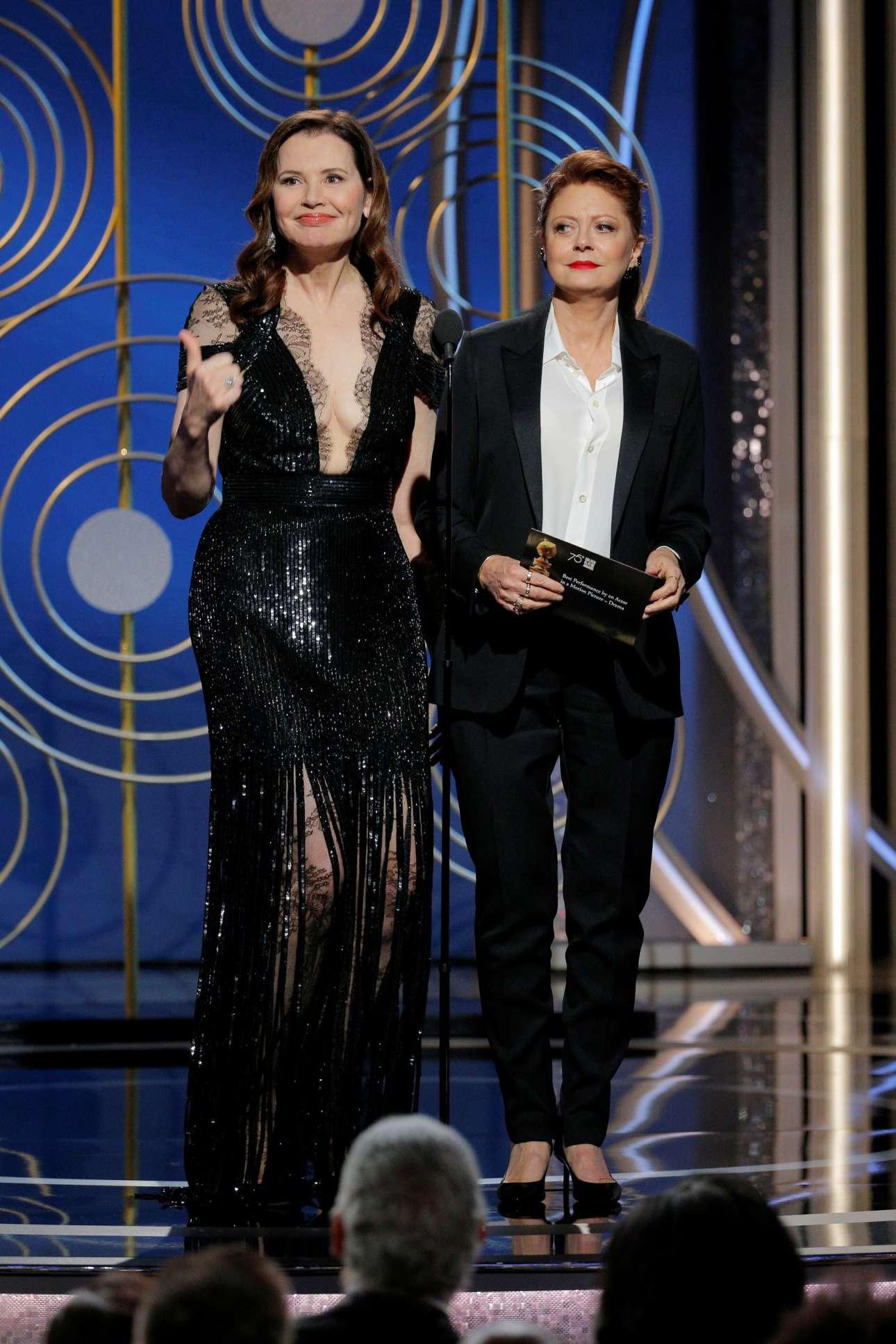 Τζίνα Ντέιβις και Σούζαν Σάραντον, ένα «κλείσιμο του ματιού» στο «Θέλμα και Λουίζ», ένα από τα πιο φεμινιστικά φιλμ των τελευταίων δεκαετιών