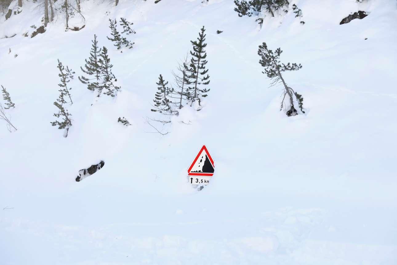 Ο Χειμώνας στις Αλπεις δεν είναι παιχνίδι...