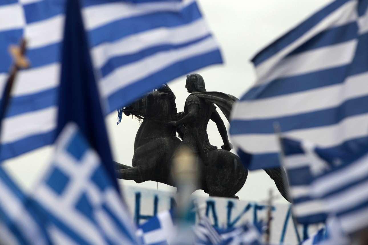 Σημείο συνάντησης το άγαλμα του Μεγάλου Αλεξάνδρου