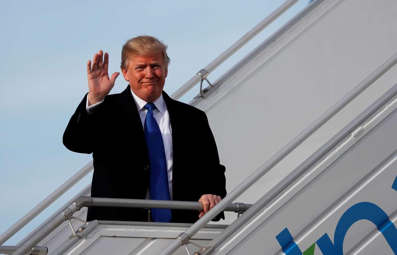 Ο Ντόναλντ Τραμπ χαιρετά την Ελβετία