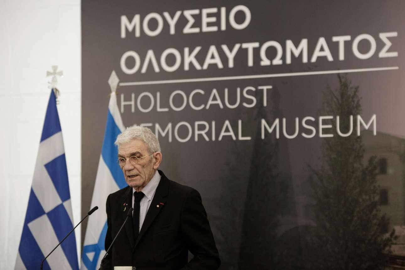 O δήμαρχος Θεσσαλονίκης στο βήμα της εκδήλωσης