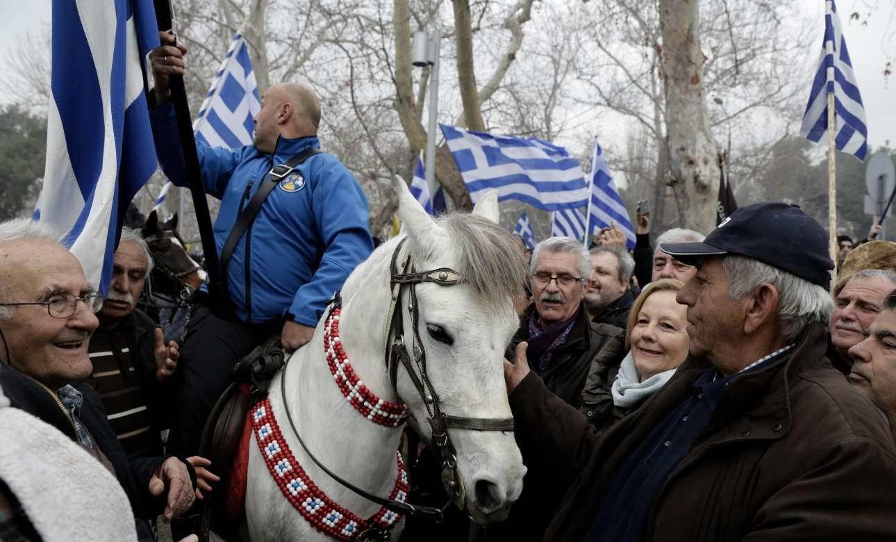Κάποιοι ήρθαν με πούλμαν, άλλοι με άλογα