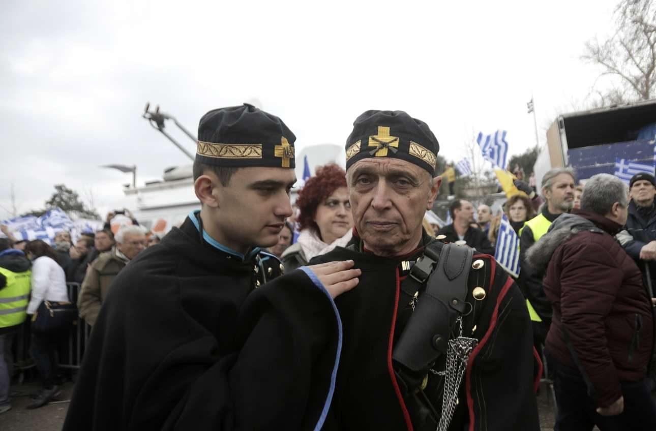 «Μακεδονομάχοι», απόγονοι των πραγματικών, δυο νεότερες γενιές τουλάχιστον...