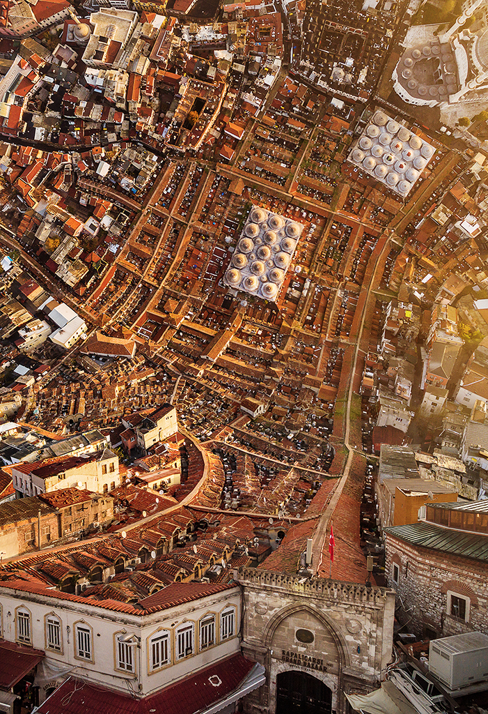 Το Μεγάλο Παζάρι της Κωνσταντινούπολης, από τις μεγαλύτερες και πιο διάσημες σκεπαστές αγορές στον κόσμο