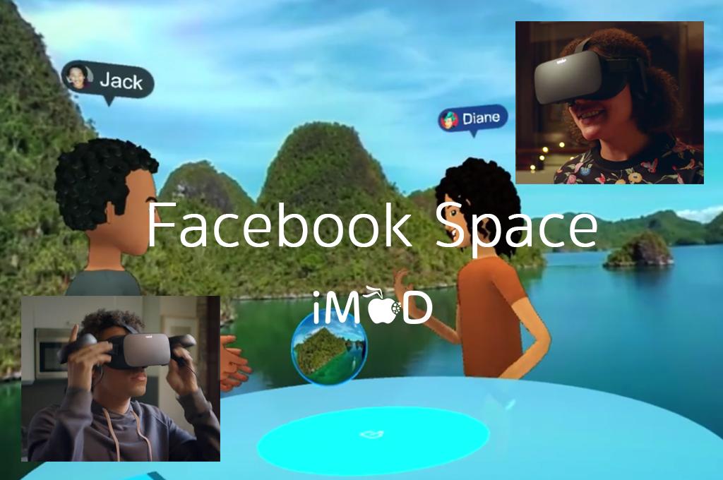 Μια νέα ενδιαφέρουσα εφαρμογή της εικονικής πραγματικότητας είναι το facebook space όπου οι χρήστες των social media θα μπορούν να έρχονται σε επαφή μεταξύ τους σε περιβάλλον Virtual Reality