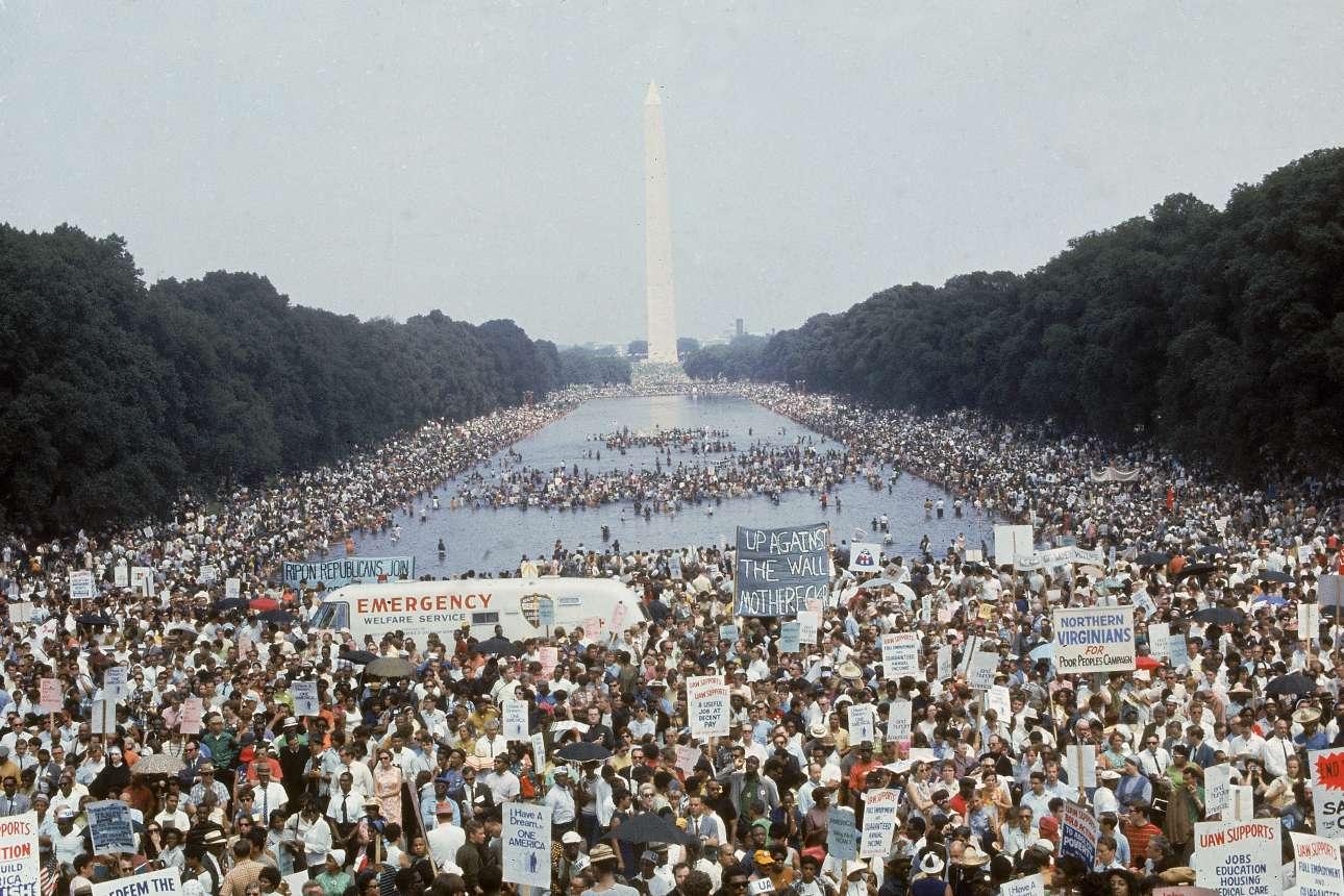 «Η Πορεία των Φτωχών» στην Ουάσινγκτον, μία ιστορική εκστρατεία που απαιτούσε οικονομικά και ανθρώπινα δικαιώματα για τους φτωχούς Αμερικανούς, η οποία είχε σχεδιαστεί από τον Μάρτιν Λούθερ Κινγκ πριν δολοφονηθεί
