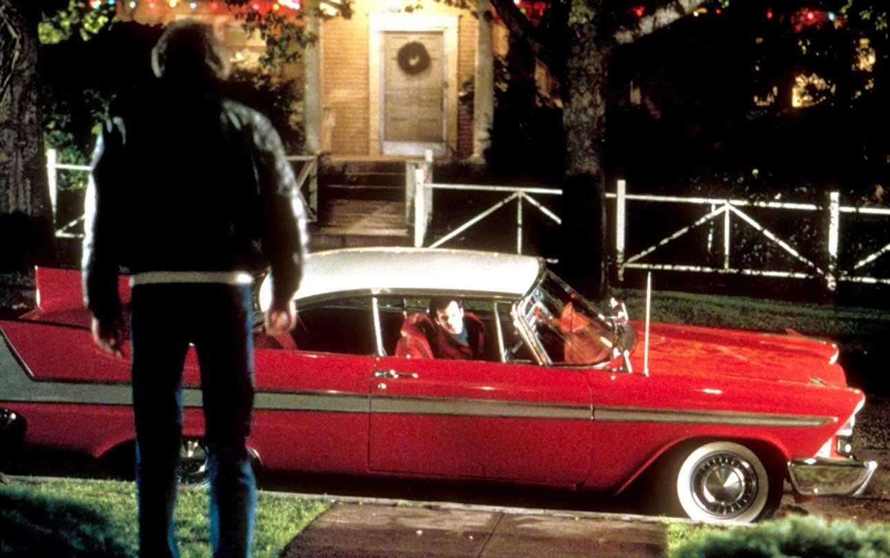 Plymouth Fury. Σε ένα αμερικανικό horror film-αριστούργημα του 1983 που βασίστηκε σε βιβλίο του Στίβεν Κινγκ, η θρυλική «Christine» είναι το υπόδειγμα οχήματος με «ψυχή» σε ταινία, αλλά με μια σκοτεινή πλευρά Μια τόσο μοιραία Fury δεn θα μπορούσε παρά να είναι κόκκινη και να σκορπά τον θάνατο κατά βούληση.
