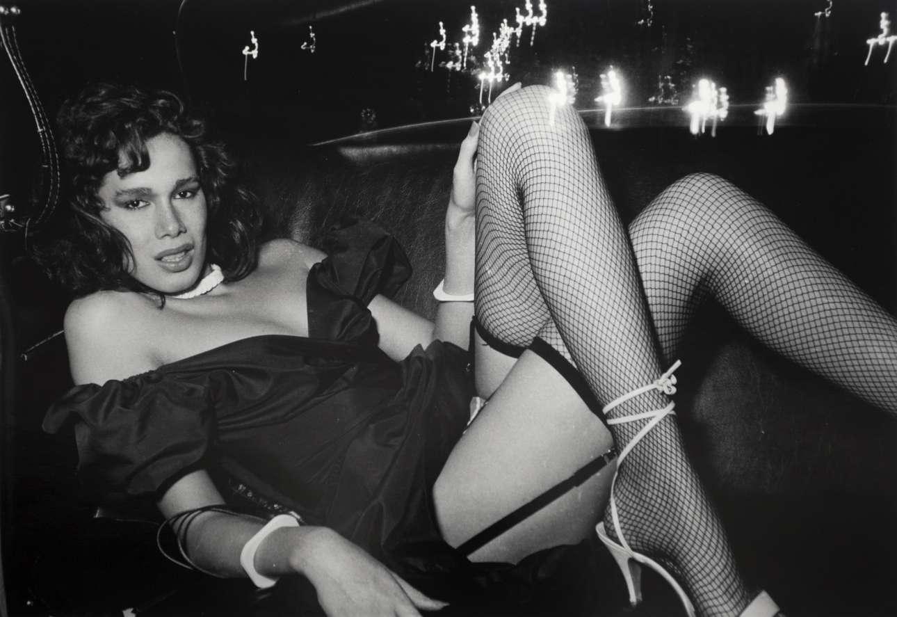 «Ruby Duby Do», 1982. «Η εικόνα του πίσω καθίσματος ήταν συνεχώς σε κατάσταση ροής, γεμάτη από συναρπαστικούς ανθρώπους που δημιουργούσαν τη δική τους μοναδική ατμόσφαιρα» λέει ο Γουάιντμαν