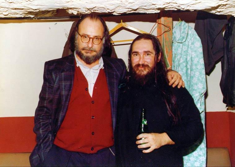 Με τον Διονύση Σαββόπουλο, το 1983