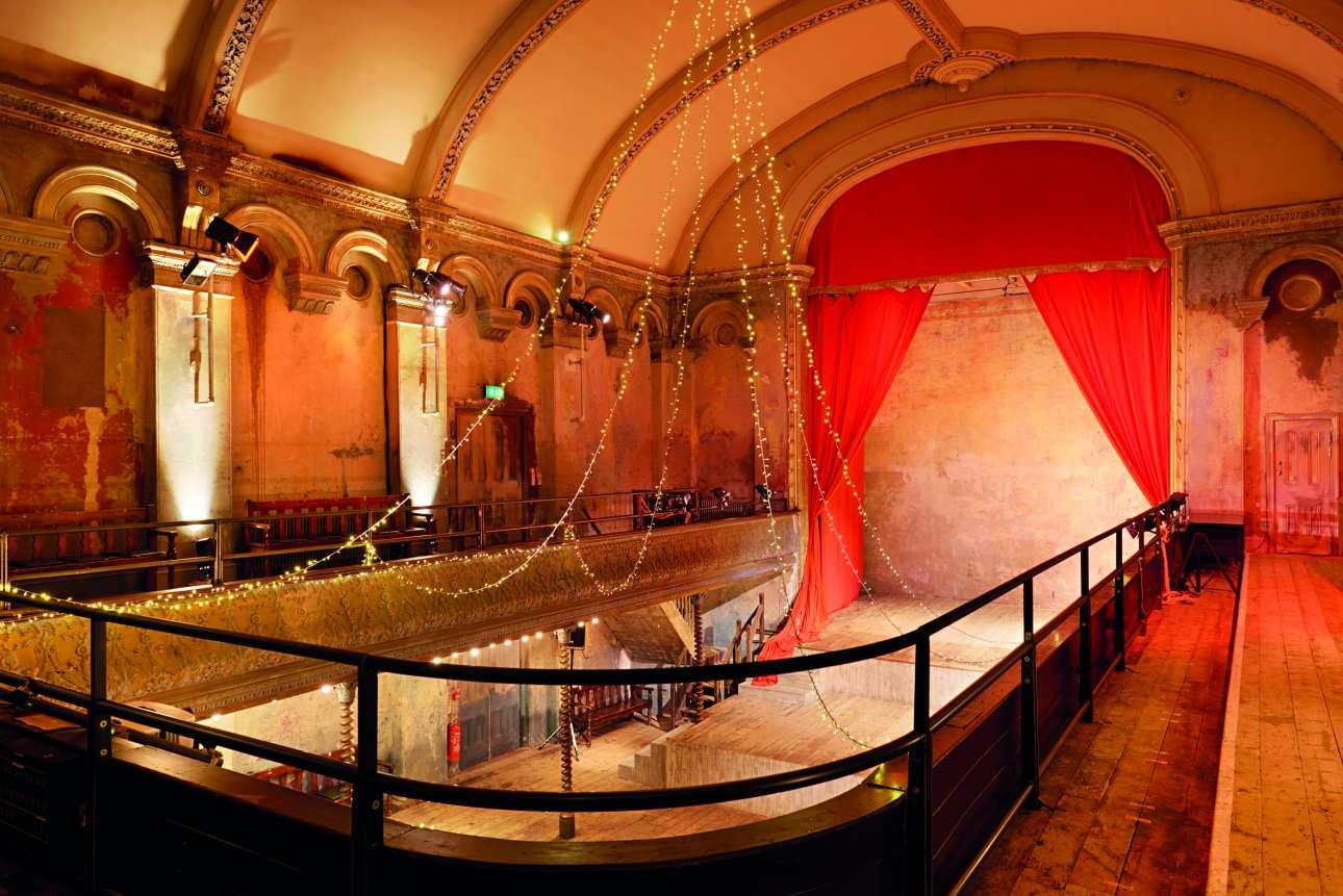 Ενας από τους τελευταίους εναπομείναντες συναυλιακούς χώρους της εποχής του 1850, το παραμυθένιο Wilton's Music Hall στο Ιστ Εντ του Λονδίνου