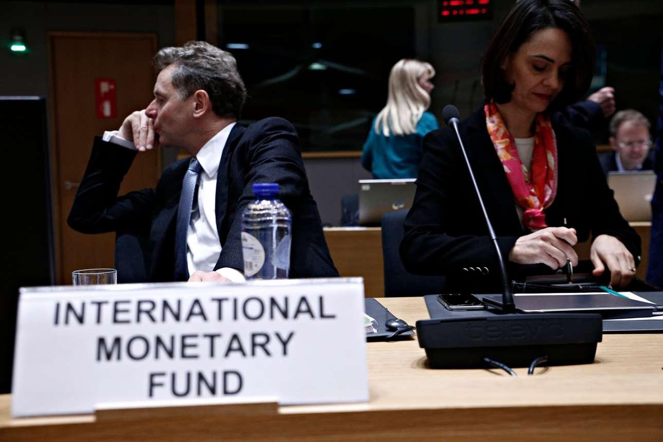 Με τον Πόουλ Τόμσεν στο Eurogroup της Δευτέρας 17 Φεβρουαρίου 2017 (Alexandros Michailidis SOOC)