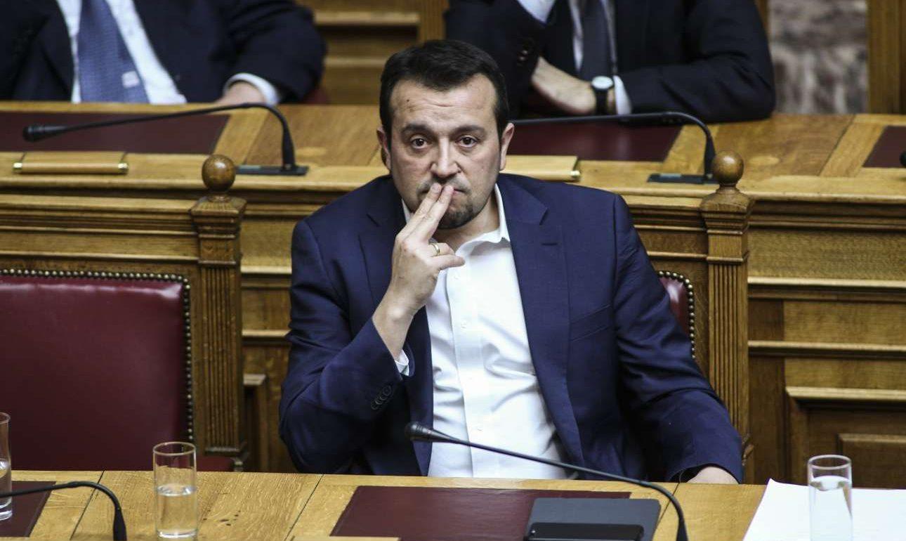 Ο υπουργός Ψηφιακή Πολιτικής Νίκος Παπάς (SOOC)