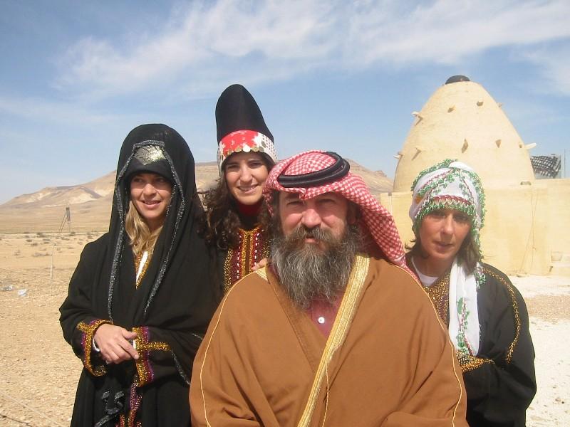 Σε ταξίδι του στη Συρία στα μέσα της δεκαετίας του 2000