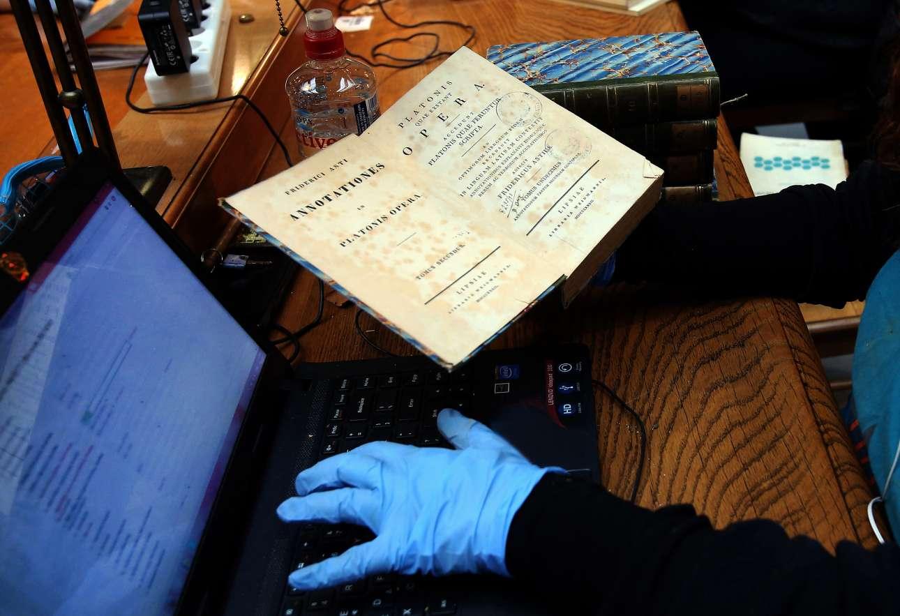 Οταν τα παλιά συγγράμματα συναντούν την σύγχρονη τεχνολογία στη διαδικασία ταξινόμησης