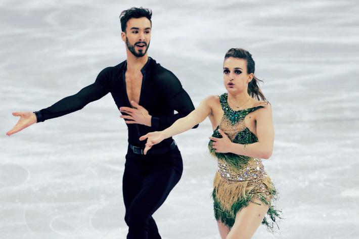 Ο χειρότερος εφιάλτης της Παπαδάκις έγινε πραγματικότητα στους φετινούς Ολυμπιακούς Αγώνες: το κοστούμι της άνοιξε ξαφνικά αποκαλύπτοντας το στήθος της