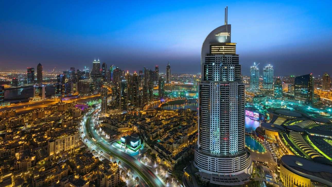 Το επιβλητικό ξενοδοχείο Address Hotel στο κέντρο του Ντουμπάι