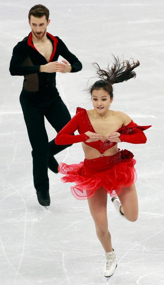 Τον τρόμο στον πάγο βίωσε η νοτιοκορεάτισα Γιούρα Μιν εξαιτίας της ενδυματολογικής της «δυσλειτουργίας», όπως αποκάλυψε αργότερα η ίδια