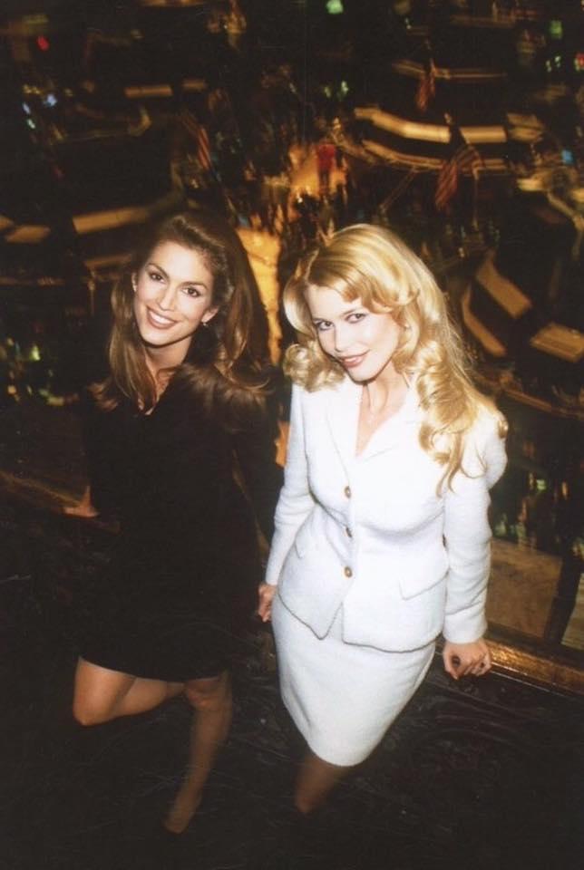 Με την Κλόντια Σίφερ, στο απόγειο της καριέρας τους