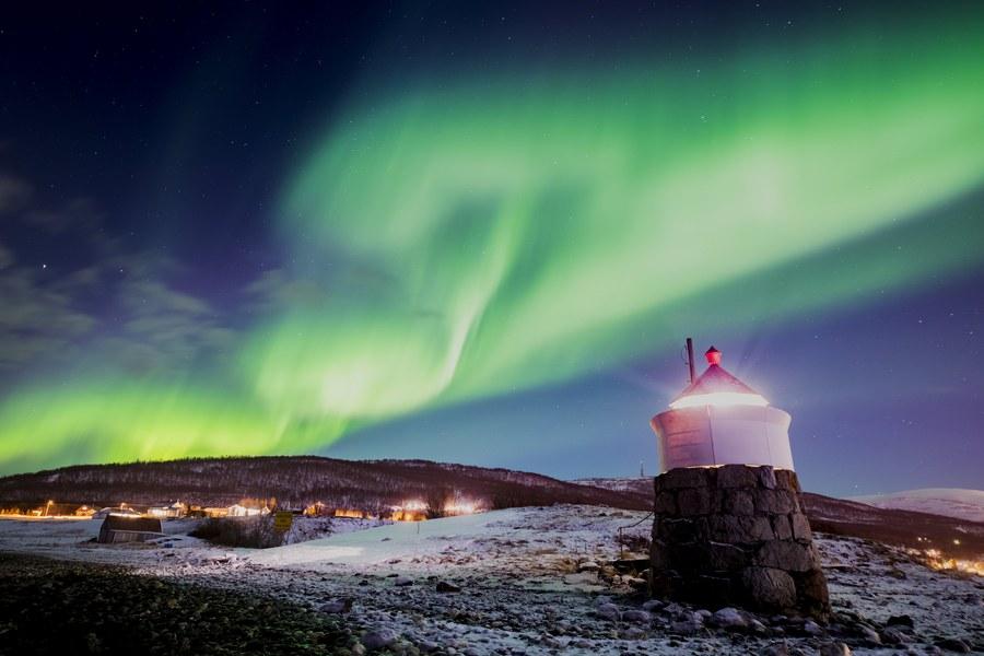 Παρασκευή, 23 Φεβρουαρίου, Νορβηγία. Φαντασμαγορικό θέαμα στον ουρανό του χωριού Στραντ, όπου το Βόρειο Σέλας (ή αλλιώς Aurora Borealis) έκανε την εμφάνισή του